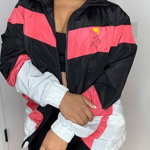 Life in Plastic Track Jacket (Pink)